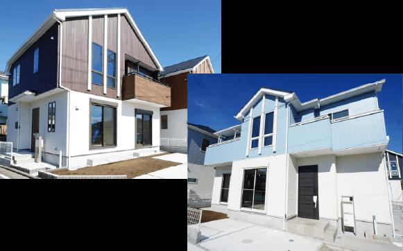 玄関ドア・サッシ・屋根・外壁・標準設備EXTERIOR